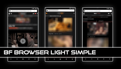 BF Browser Light Simple 2.0 Screenshots 1