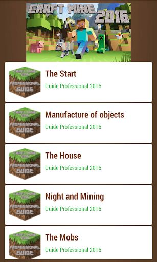Crafting Guide Pocket 2016