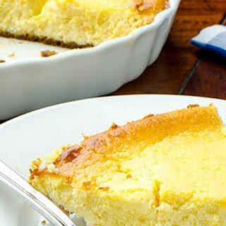 Italian Ricotta and Cream Cheese Pie Recipe