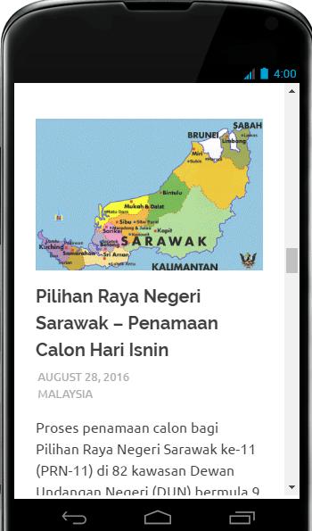 Screenshots of BuletinDunia dot Com™ for iPhone
