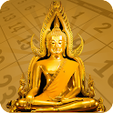 Thai Calendar Buddhist 2016 icon