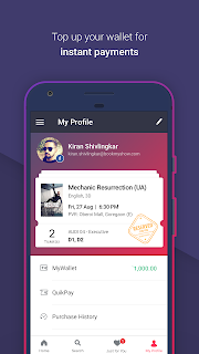 BookMyShow–Movie Tickets,Plays screenshot 06