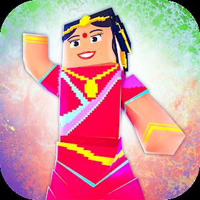 Индия Крафт: Игры в крафтинг и строительство 3D