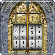 door lock screen number code security