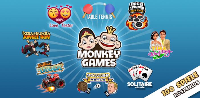 Monkey Games - 50+ Spiele kostenlos in einer App