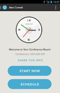 UberConference - Conferencing- screenshot thumbnail