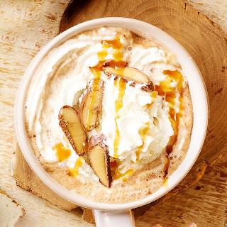 Toffee Fudge Hot Chocolate.