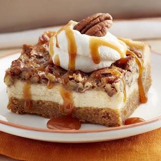 Pumpkin Pecan Cheesecake Cookie Bars