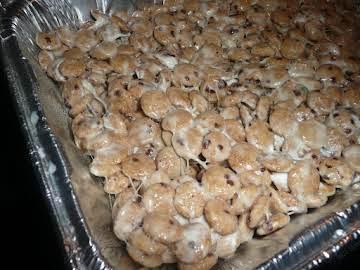 Cookie Monster Marshmallow Treats