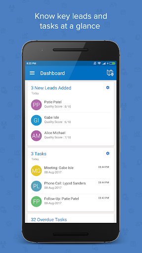 ls – mobile sales crm & lead management system screenshot 1