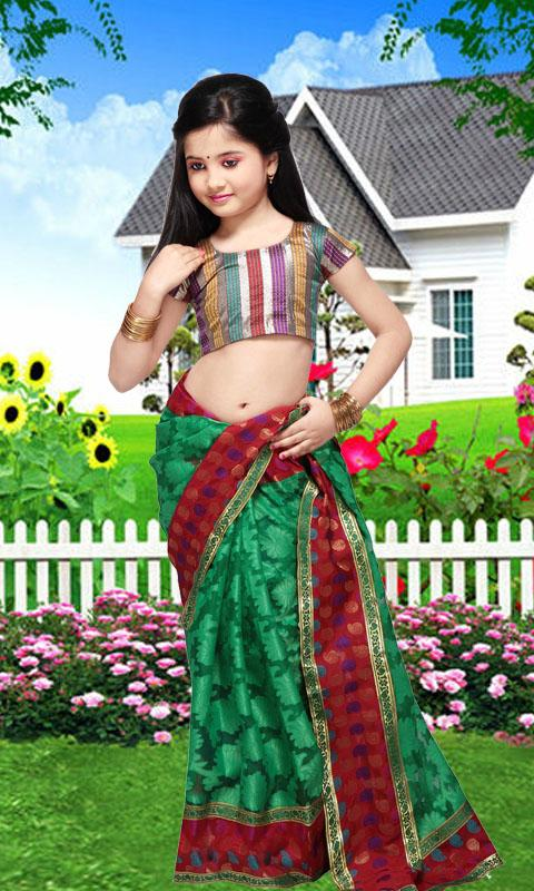 Kids Saree Photo Maker- screenshot