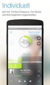 Tinnitracks Tinnitus Therapie screenshot 0