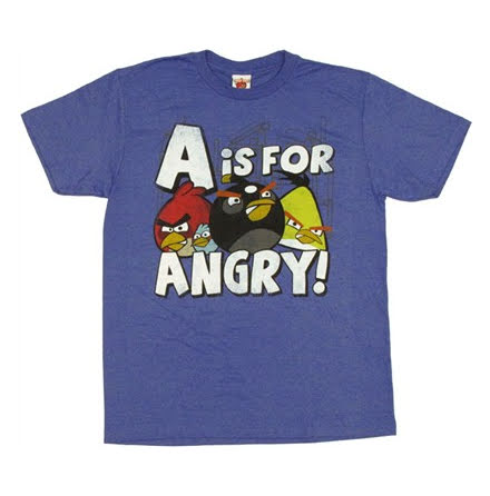 T-Shirt - A For Anger