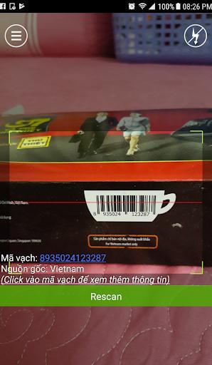 Barcode Viu1ec7t Xuu1ea5t xu1ee9 hu00e0ng hu00f3a 1.4.7 screenshots 1