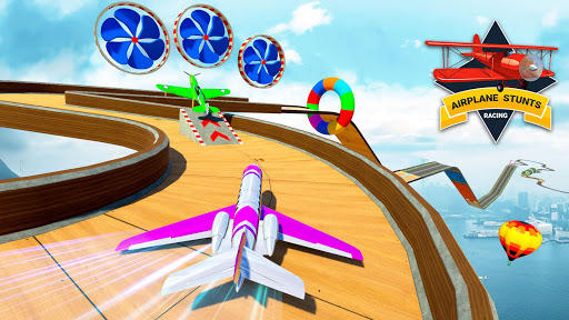 City Airplane Stunts 3D : Gt Racing Stunt Games screenshots 19
