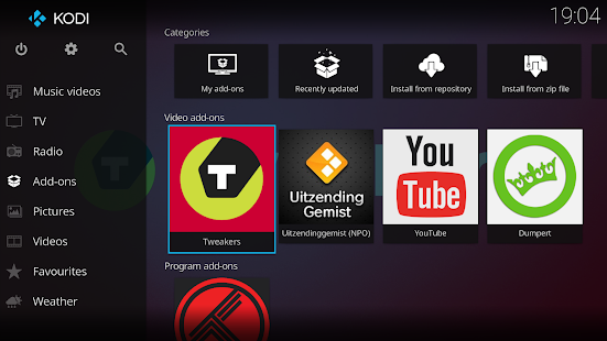 Kodi- screenshot thumbnail
