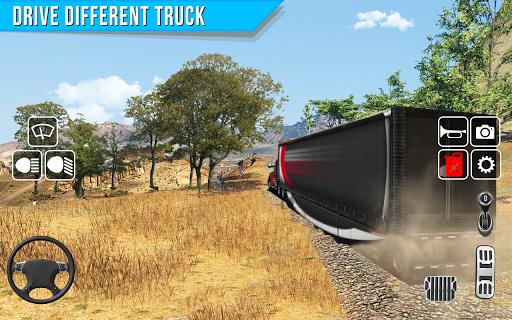 Offroad truck driver 4X4 cargo truck Drive 3D apkmr screenshots 5