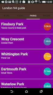 Finsbury Park Guide - náhled
