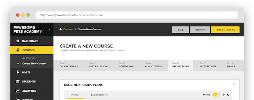 Drip and Zippy Courses Integration Screenshot