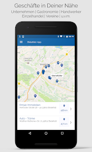 Bielefeld-App - náhled