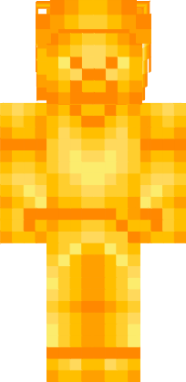 Cute Minecraft Girl Wallpaper Gold Steve Nova Skin