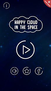 Happy Cloud in The Space - náhled