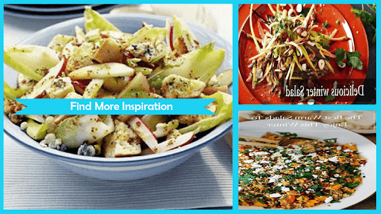 Delicious Winter Salad Recipes - náhled