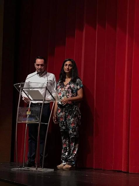 Presentació a l'assemblea de les Falleres Majors de Gandia 2018