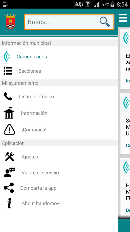 Santa Cruz de Mudela Informa- screenshot