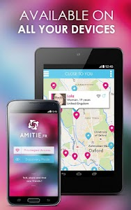 Amitié : chat, friend, dating screenshot 6