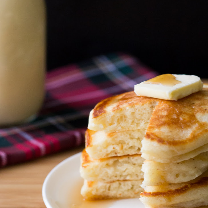 Eggnog Pancakes Recipe   Yummly