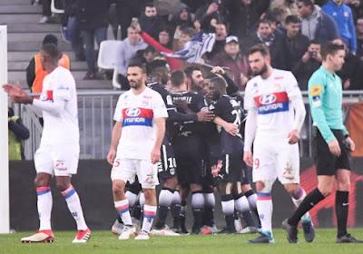 Bordeaux assomme Lyon, qui laisse Paris reprendre le large