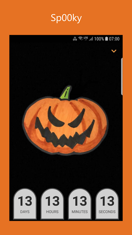 Halloween Countdown Widgets Spooky Wallpapers Android Apps Appagg