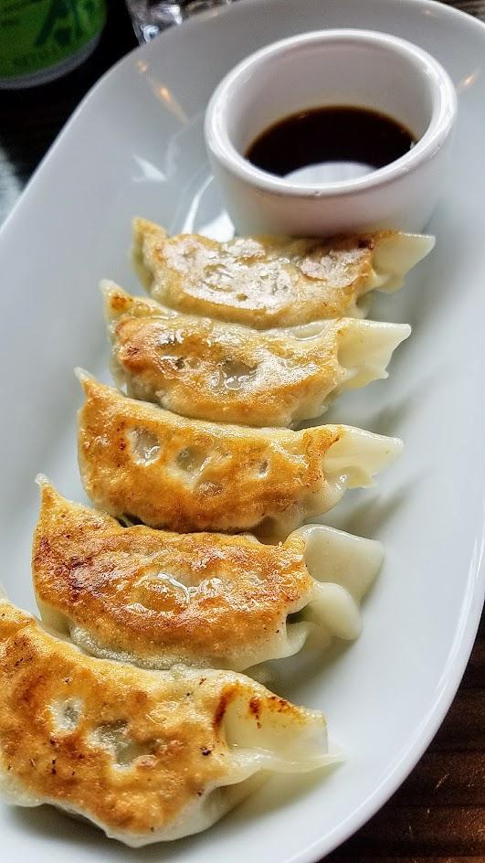 Marukin Ramen Gyoza, pork filled potsticker dumplings