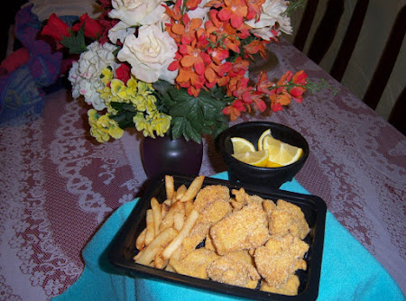 DEEP FRIED SWAI FISH AND CHIPS FOR TWO Recipe