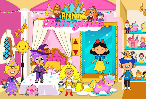 My Pretend Fairytale Land - Kids Royal Family Game for PC