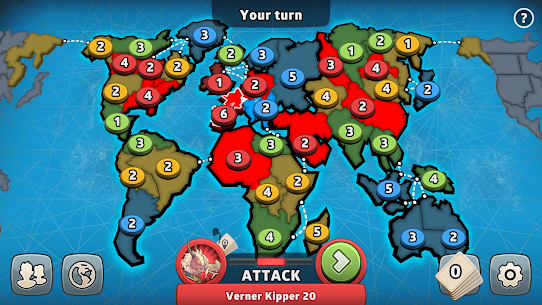 RISK: Global Domination Apk Mod (Tokens Infinito) 7
