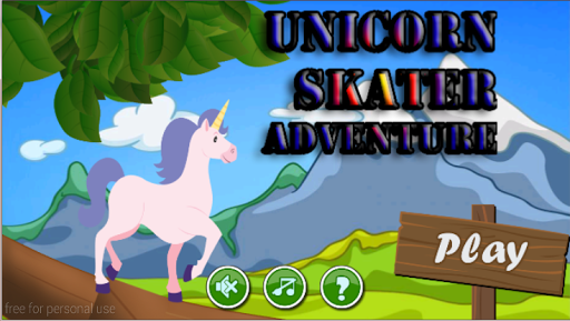 Unicorn Skater Adventure