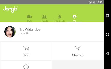 Jongla - Instant Messenger Screenshot 9