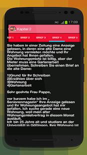 screenshot image - Brief Schreiben Beispiel B1