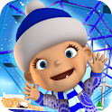 Baby Snow Park Winter Fun icon