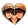 Twin Pic Frames APK icon