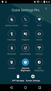 Super Quick Settings Pro – Toggles & AD Free v5.7 [Paid] 5