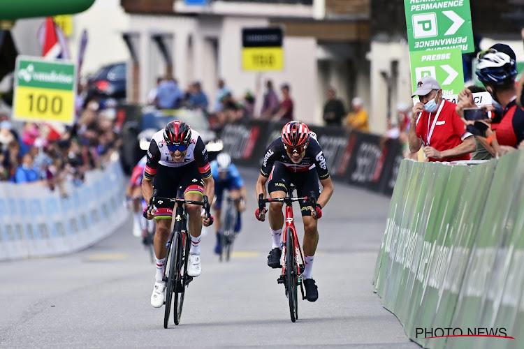 Gewijzigde etappe in Ronde van Zwitserland gewonnen door Lotto-renner Kron na declassering van Portugees