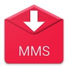 Save MMS pictures : backup icon