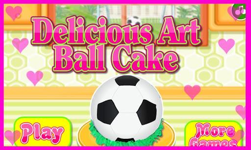 Delicious Art Ball Cake 1.0.0 screenshots 1