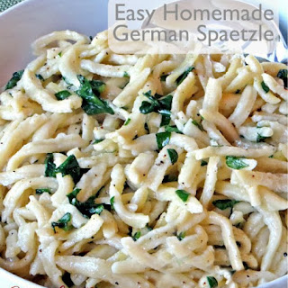 Easy Homemade German Spaetzle.