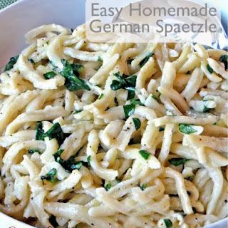 Easy Homemade German Spaetzle.