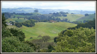 Photo: Seen from Helen Putnam County Park near Petaluma CA
