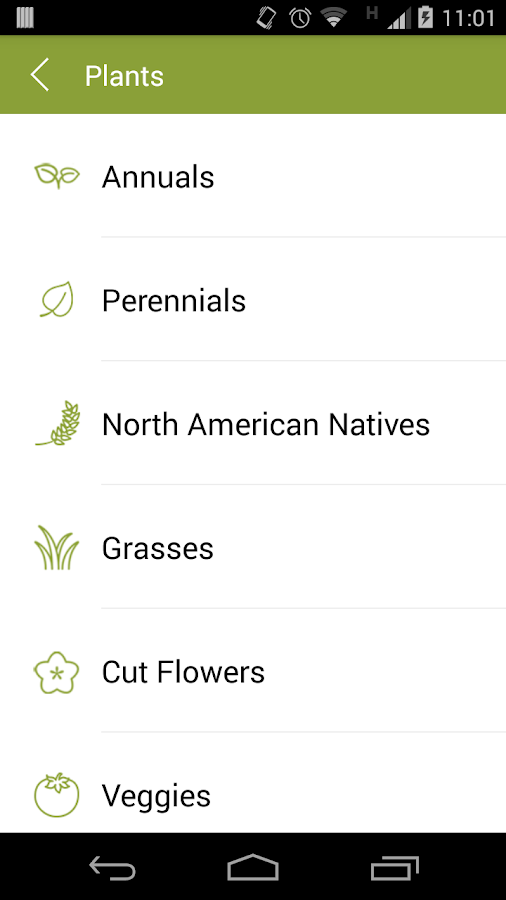 Armitage Perennials & Annuals- screenshot